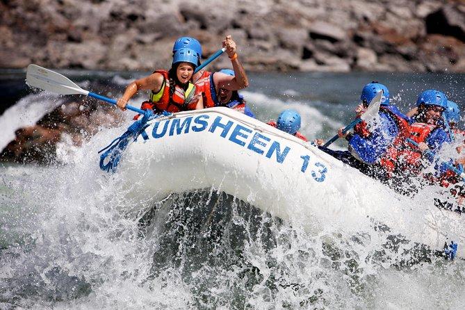 Half-Day Thompson River Paddle Rafting
