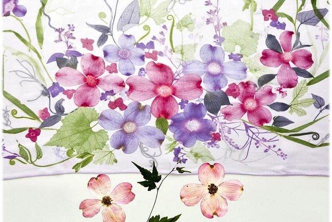 Tokyo Japansk kultur av Somemono: Farging et skjerf ved bruk av Eco Friendly Method