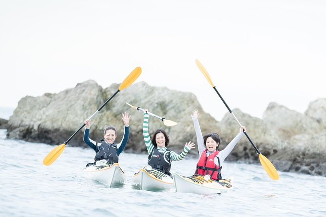 Sea Kayaking with the Grand View of Mt Fuji