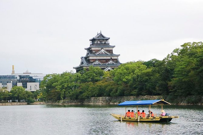 'Guided Tour' Premium Boat Tour Around Stunning Hiroshima Castle