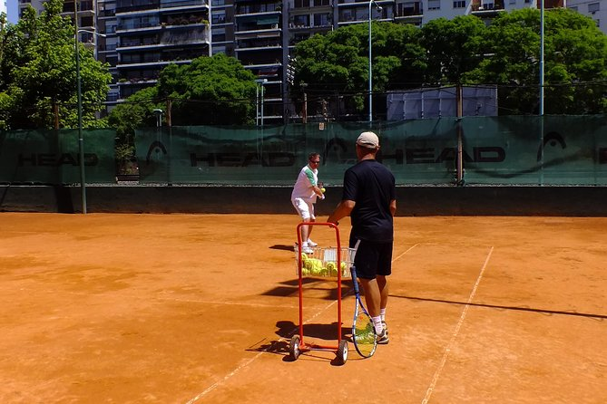 Tennis Lessons in Buenos Aires, Argentina.