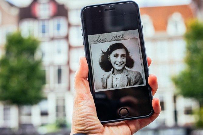 Private Amsterdam World War II Tour: Anne Frank & Auschwitz monument