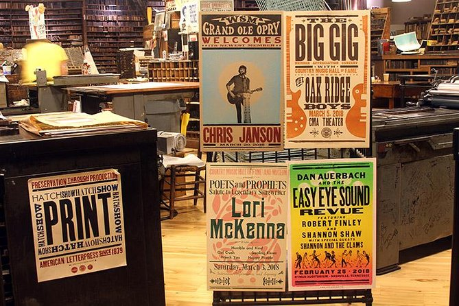 Hatch Show Print Guided Studio Tour with Souvenir Poster photo 12