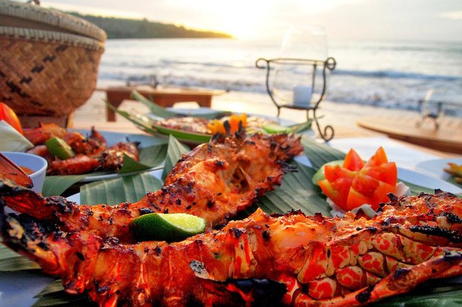 Bali Jimbaran Bay Seafood with Sunset View