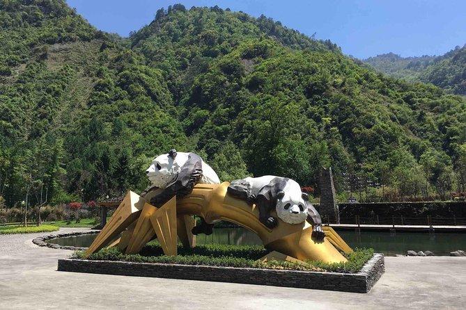 Chengdu to Wolong Panda Base, Dujiangyan Irrigation Dam Tour