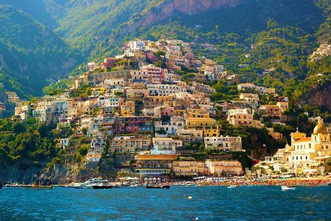 From Rome: Amalfi Coast tour and Boat Trip
