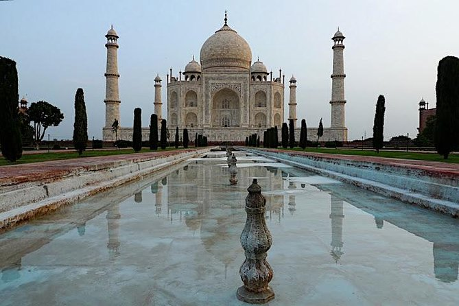 Day Trip to The Taj Mahal and Agra from Jaipur ending in Delhi by Car