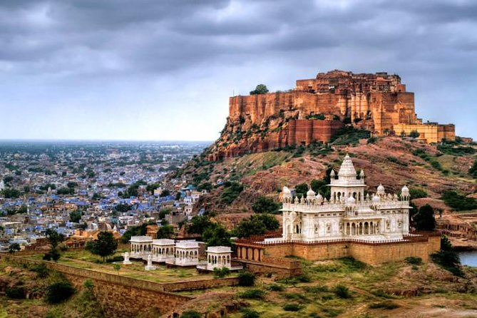 Full Day City Tour of Jodhpur visit Mehrangarh Fort and Jaswant Thada