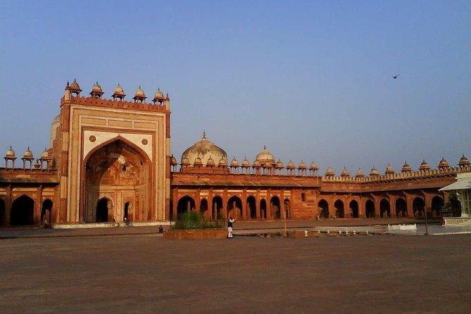 Excursión privada de un día a Fatehpur Sikri desde Jaipur a Agra drop