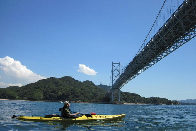 Sea kayaking tour with lunch! A one-day adventure by sea kayak in Hiroshima