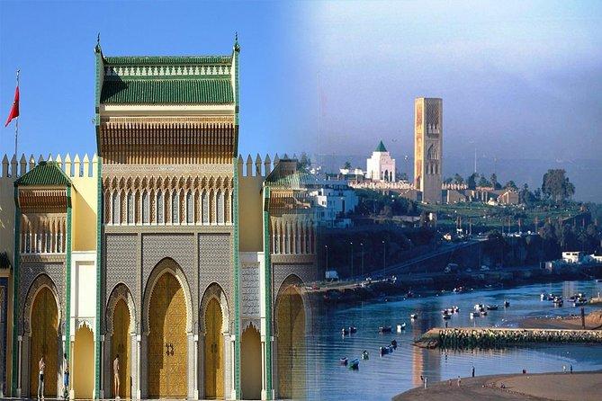 Kombination: Besichtigungstour von Fes und Rabat von Casablanca