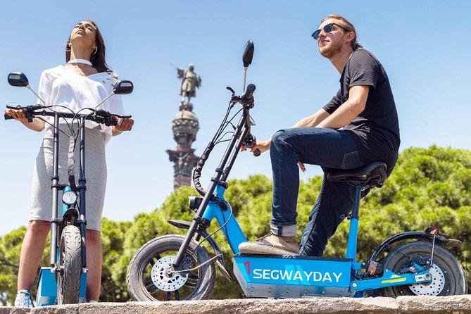 Montjuic eScooter tour