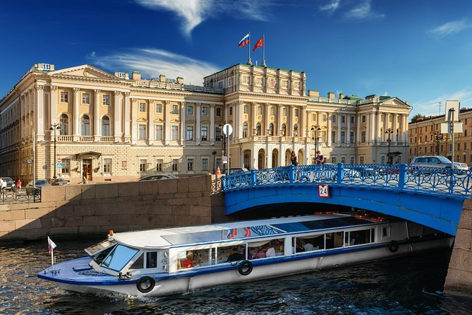 Private 4-hour Sightseeing Tour of St Petersburg & Optional Boat Canals Cruise