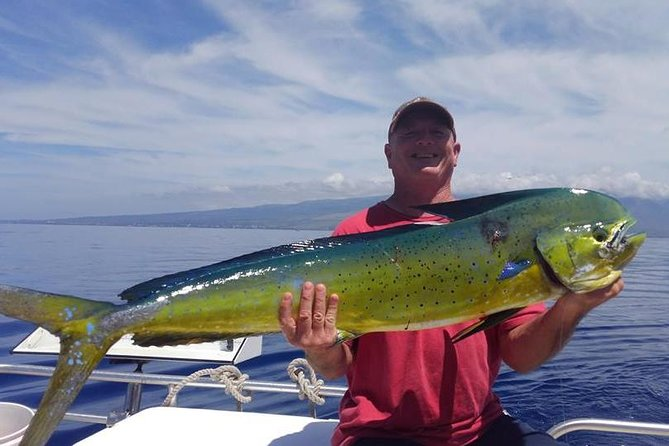 Light Tackle Shared Fishing Charter uit Lahaina