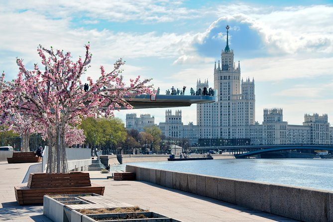 Private Half-Day Moscow Tour: Red Square, Zaryadye Park and Metro