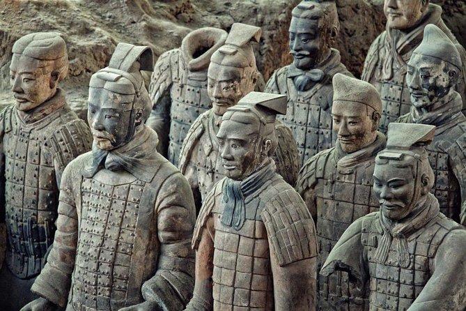 Xian Day Tour med lunsj: Banpo Museum, Huaqing Hot Spring & Terracotta Warriors