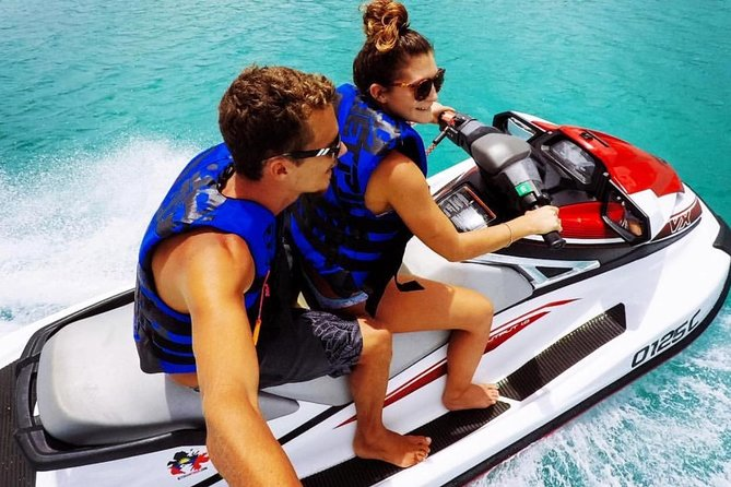 2hr Jet Ski Antigua Guiado Jet Ski Tour com Beach Break