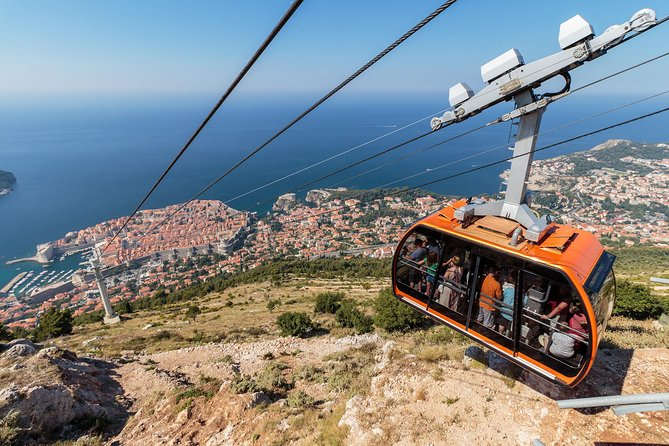 Dubrovnik panoramic sightseeing tour - cable car view