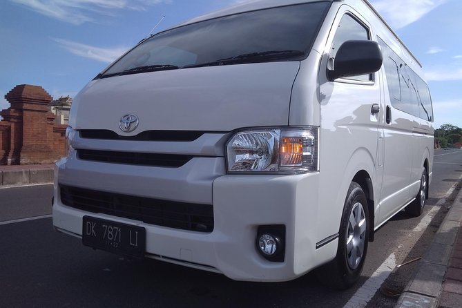 Bali Private Van Charter