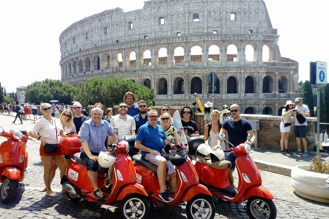 Vespa Tour: The best of Rome (3 hours - Morning)