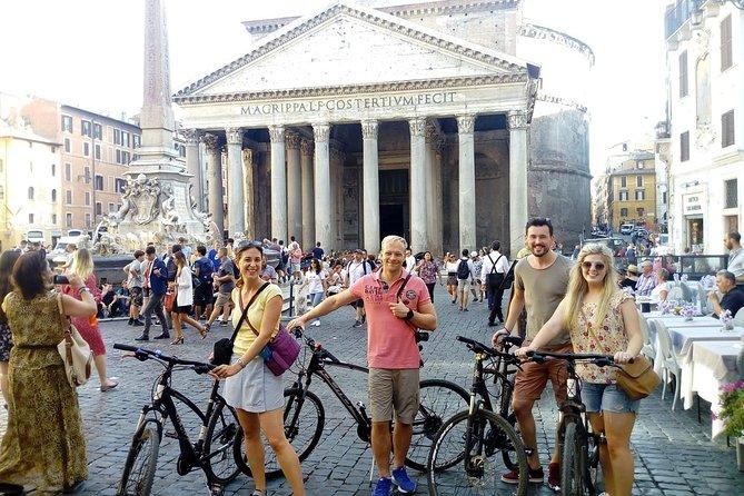 Visite du vieux Rome à vélo