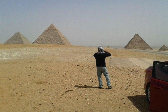 Tours from Cairo airport Giza Pyramids Memphis city Saqqara and Dahshur