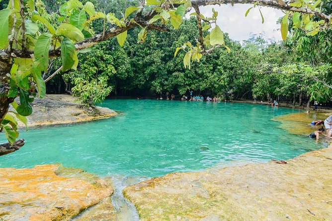 Krabi jungle Tour (Emerald pool,Hot spring waterfall, Tiger cave)