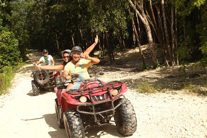 Playa del Carmen Adventure Tour: ATV Ride, Cenote Swim, and Rio Secreto Nature Reserve photo 1
