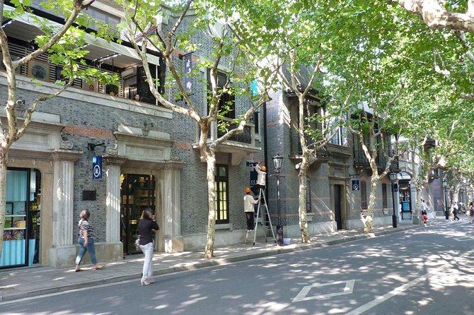 Privat promenadtur i den tidigare franska koncessionen