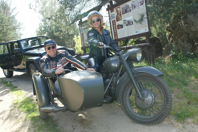Vintage sidecar URAL motocykle trips & Warsaw in a new way, unique attraction!
