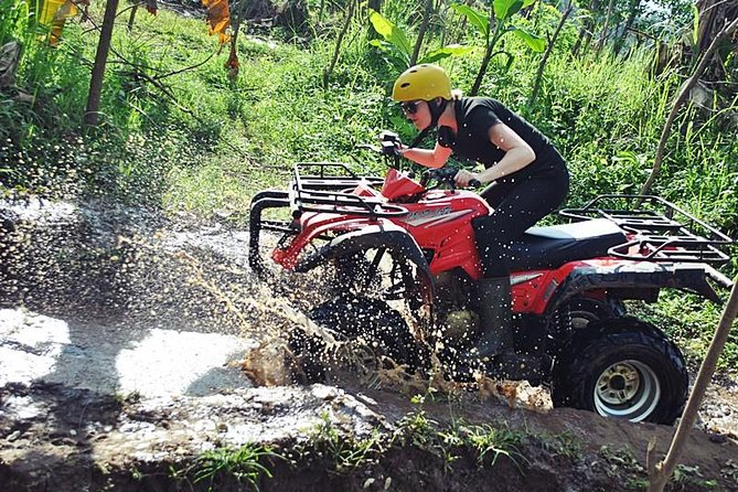 Bongkasa Half-Day Quad Bike ATV Ride Village Adventure in Bali with Transfer