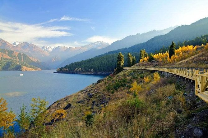 Private Day Trip to Heavenly Lake from Urumqi with Boat Cruise Option