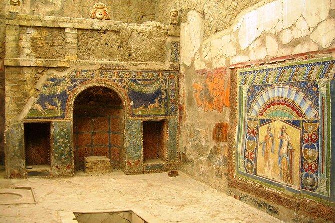 Vesuvius and Herculaneum Private Tour from Amalfi Coast