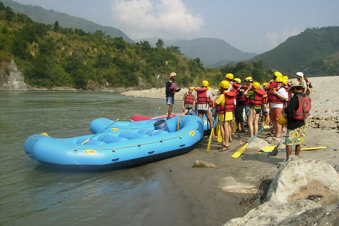 Trishuli River Rafting Day Trip from Kathmandu with Private Car
