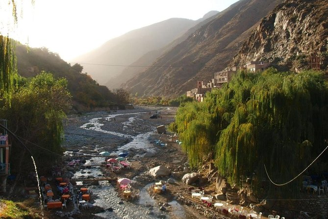Day trip to Ourika valley and atlas mountains from marrakech