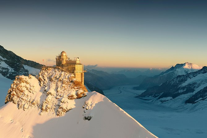 Jungfraujoch Top of Europe Private Tour from Interlaken