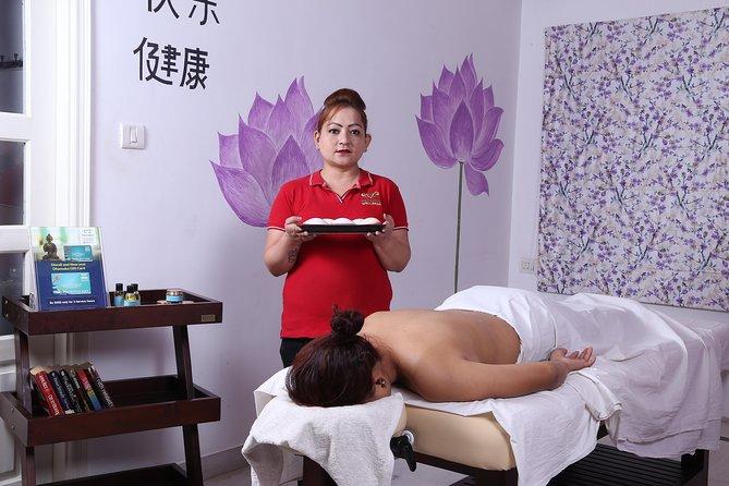 60 Min Full Body Massage at Meghavi Wellness Spa : Aroma, Deep Tissue, Swedish