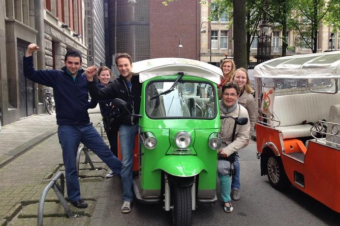 Amsterdam Small-Group Sightseeing Tour by Tuk Tuk