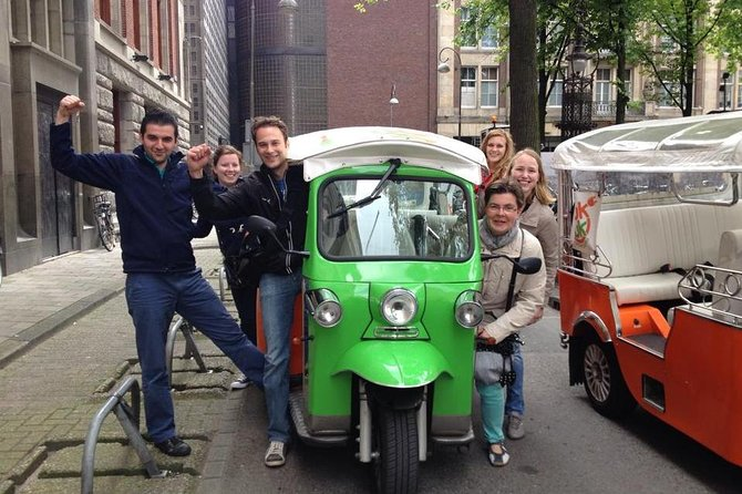 Tuk Tuk City Tour with Skip the Line Rijksmuseum in Amsterdam