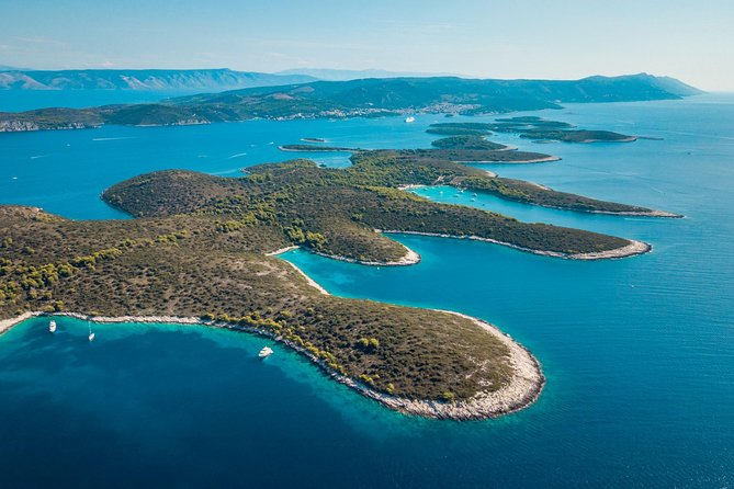 Full-Day Private Hvar, Brac and Pakleni Islands Boat Tour from Split