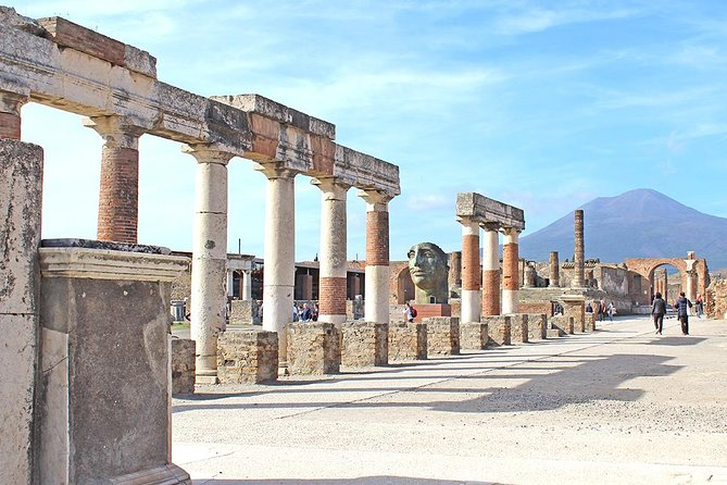 Fast Access Exclusive Private Ancient Pompeii Half Day Tour with Local Guide