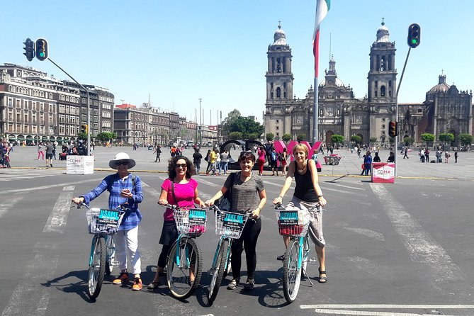 POR TENOCH Mexico City Downtown Bike Tour