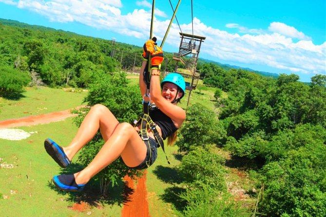 ATV Off-Road Adventure & Zipline Combo in Negril
