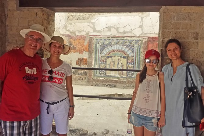 Skip-the-line Ancient Herculaneum Highlights Exclusive Tour with Private Guide