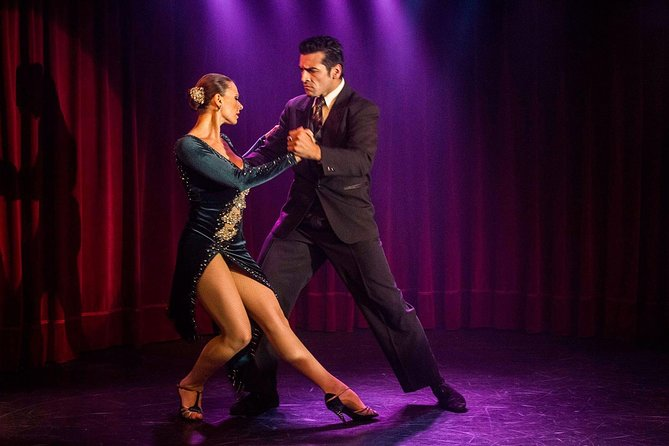 Rojo Tango Dinner & Tango Show with Private Transfers