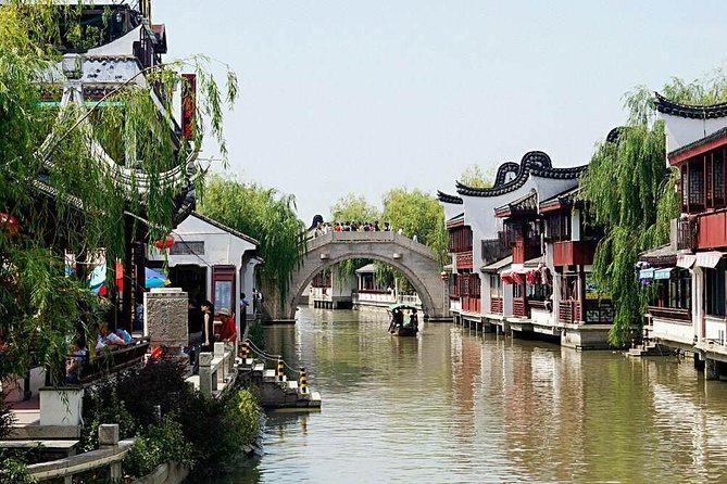 Half Day Private Tour to Zhaojialou Ancient Town with Lunch and Boat Ride