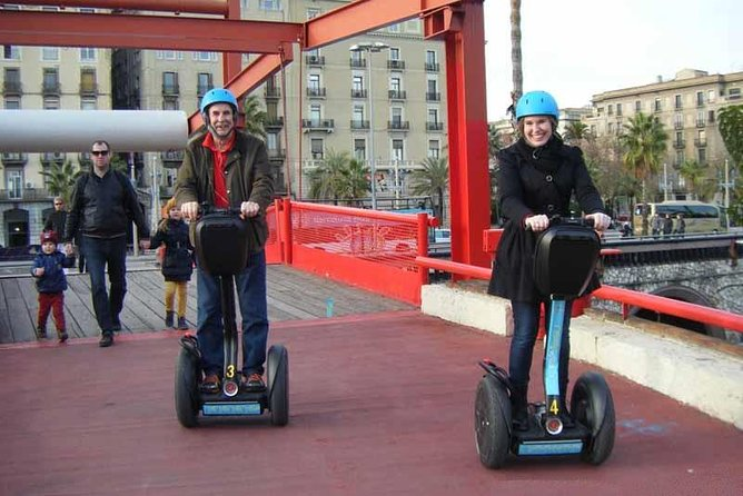 Seaside Segway Tour in Barcelona