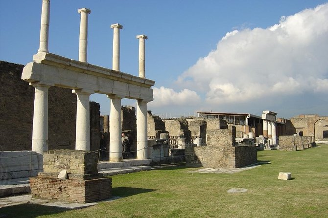 Pompeii and Vesuvius guided group tour from Amalfi Coast