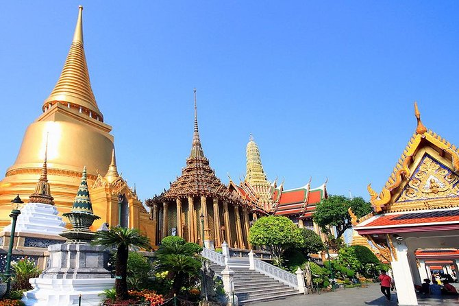The Best Bangkok Temples ( Wat Traimit Golden Buddha - Marble Temple - Wat Pho )