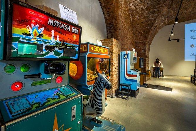 Besuchen Sie das Museum der sowjetischen Arcade-Maschinen